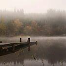 Loch Ard Mist by Claire Tennant