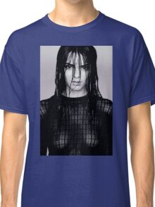 Kendall Black and White Classic T-Shirt