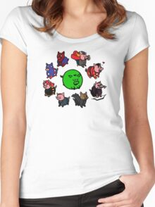 Pig Avengers Women's Fitted Scoop T-Shirt