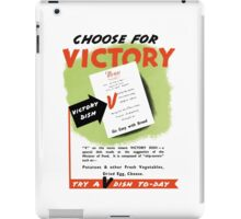 Try A V-Dish To-Day -- World War Two iPad Case/Skin