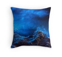 Abstract Bio Throw Pillow