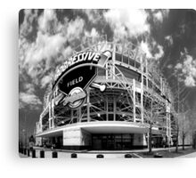 Progressive FIeld, Formerly Jacobs Field. Canvas Print