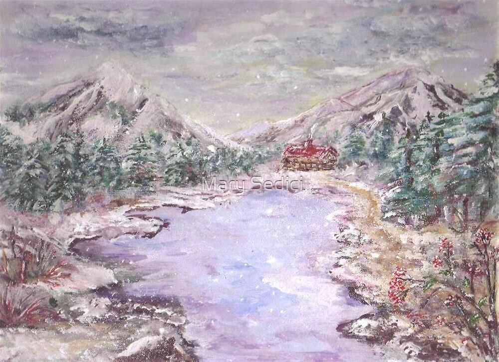 Christmas in the Mountains  by Mary Sedici