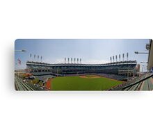 A Day At The Ball Park Canvas Print