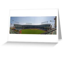A Day At The Ball Park Greeting Card