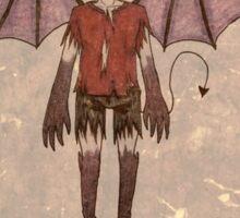 Demon Boy Sticker