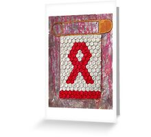 AIDs Strong Greeting Card