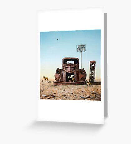 Looking For Fuel Greeting Card