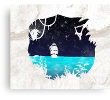 Discovering the Jungle Canvas Print