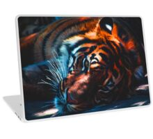 Sleepy Tiger Laptop Skin