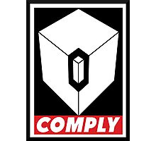 COMPLY Photographic Print