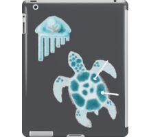 Steel Turtle ~ Blue iPad Case/Skin