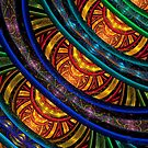 Julian Rings Stained Glass by wolfepaw