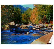 Smoky Mountain Fall: Creek  Poster