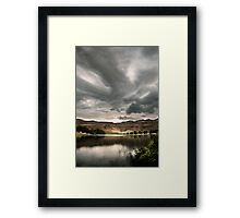 Drakensberg storm clouds, Kwazulu Natal, South Africa Framed Print