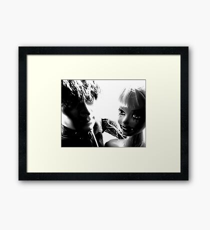 Ophelia and Mr Hip, Ready for a Night on the Town Framed Print