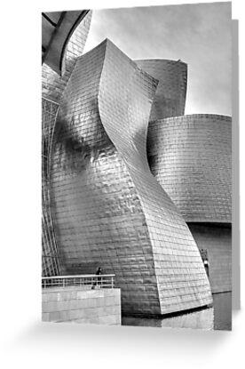 Guggenheim gallery, Bilbao by EllensEye