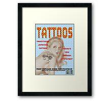 TATTOOS Framed Print