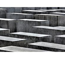 Holocaust memorial, Berlin Photographic Print