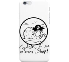 I see an enemy Sheep! - White Edition iPhone Case/Skin