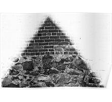 illuminating masonry Poster