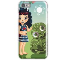 Poi, Haka and Friendly Tiki iPhone Case/Skin