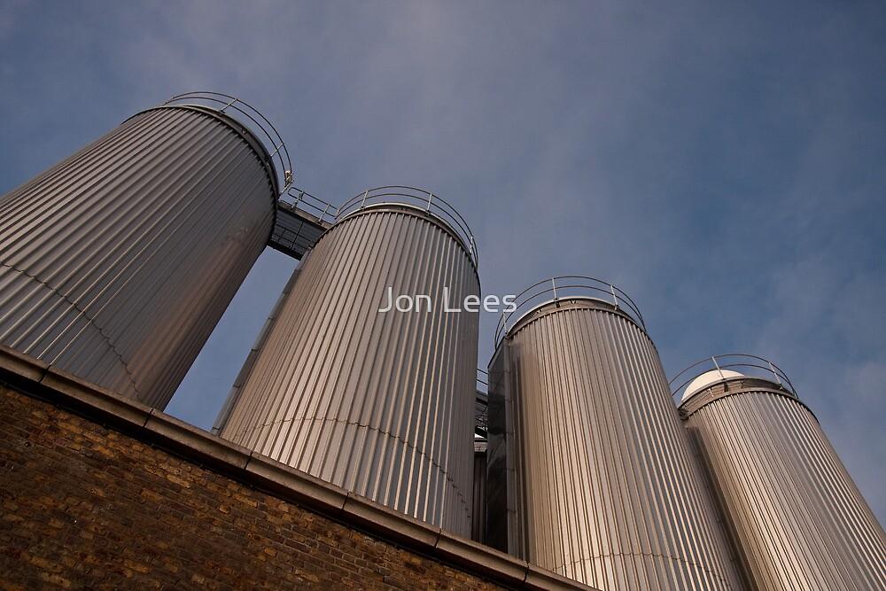 Guinness vats by Jon Lees