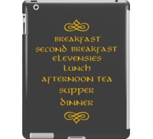 Hobbit Meals iPad Case/Skin
