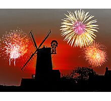 Cley Fawkes Night Photographic Print