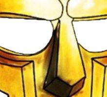 MF Doom Gold Mask Sticker