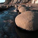 Bowling Ball Beach Low Tide by Ken Scarboro