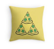 Pizza Pie-Force Throw Pillow