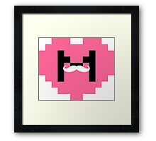 I Heart Markiplier - 2 Framed Print