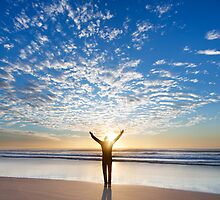 Man and Nature | Gold Coast | Australia by Pawel Papis
