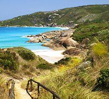 A long way down to the beach by georgieboy98