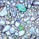 Waterworn Shards  by Redviolin