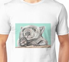 Lucy the Wombat - Teal Unisex T-Shirt
