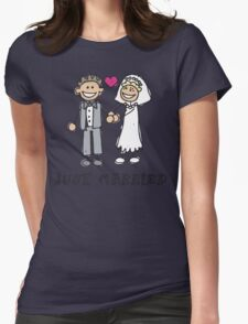 """Wedding Day """"Just Married"""" T-Shirt"""