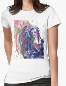 The Stranger - Inspired by Dina Wakley Womens Fitted T-Shirt