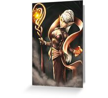 Elven Mage Greeting Card