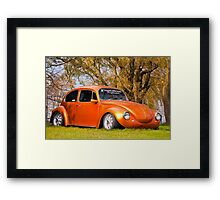 Punch Buggy...Awesome!! Framed Print