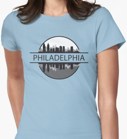 Philadelphia Pennsylvania Womens Fitted T-Shirt