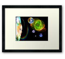 Thirteenth Dimension Framed Print
