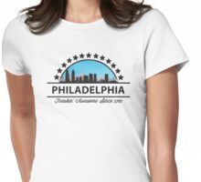Philadelphia Pennsylvania Freaking Awesome Since 1701 Womens Fitted T-Shirt