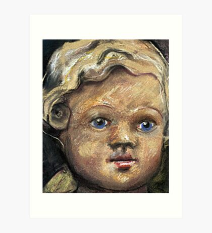 Doll Face#2 Art Print