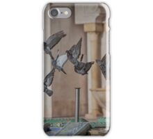 Pigeons at the Moroccan Mosque iPhone Case/Skin