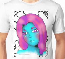 Alien Beauty Gazing Into My Soul 2 Unisex T-Shirt