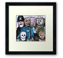 Toy Convention 3 Framed Print