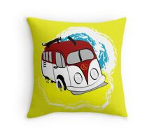 Kombie Kruiser 2 Throw Pillow