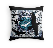 Wings in Heaven Throw Pillow